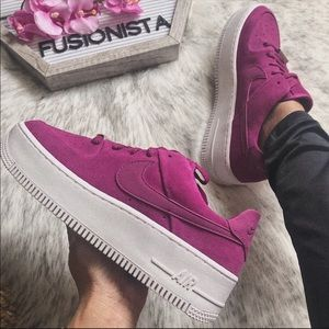 NWT🍭 Rare Nike Air Force 1 Sage Berry 5.5W
